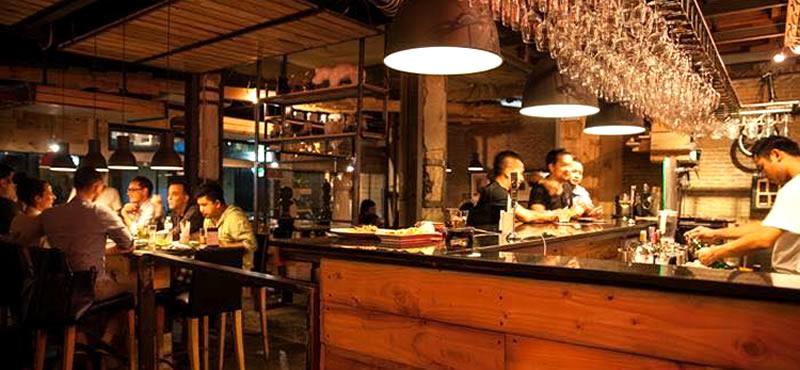 FORK & CORK gay bar and restaurant in Bangkok