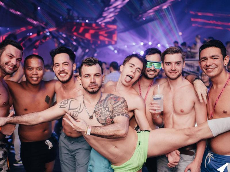 Bangkok gay scene